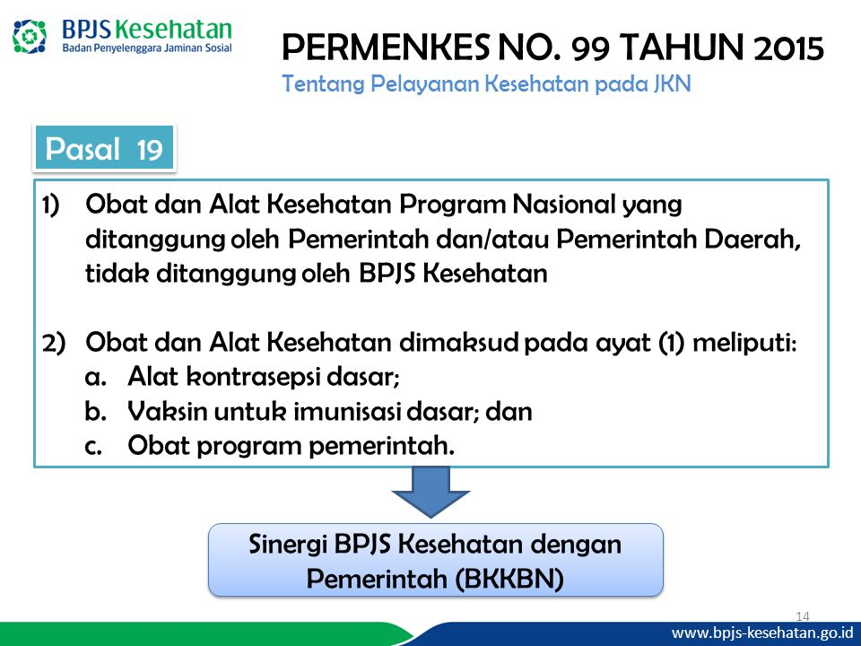Sinergi BPJS Kesehatan dengan Pemerintah (BKKBN)