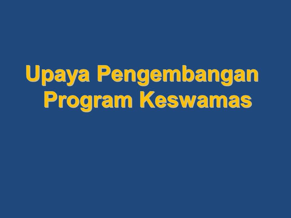 Upaya Pengembangan Program Keswamas