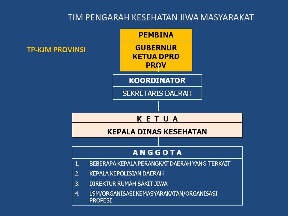 TIM PENGARAH KESEHATAN JIWA MASYARAKAT