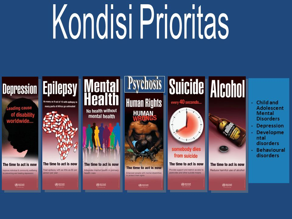 Kondisi Prioritas Psychosis Child and Adolescent Mental Disorders