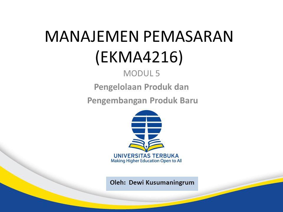 MANAJEMEN PEMASARAN (EKMA4216)