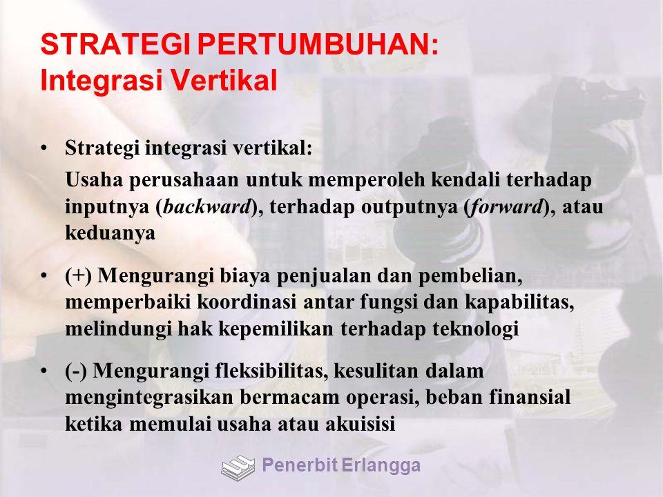 STRATEGI PERTUMBUHAN: Integrasi Vertikal