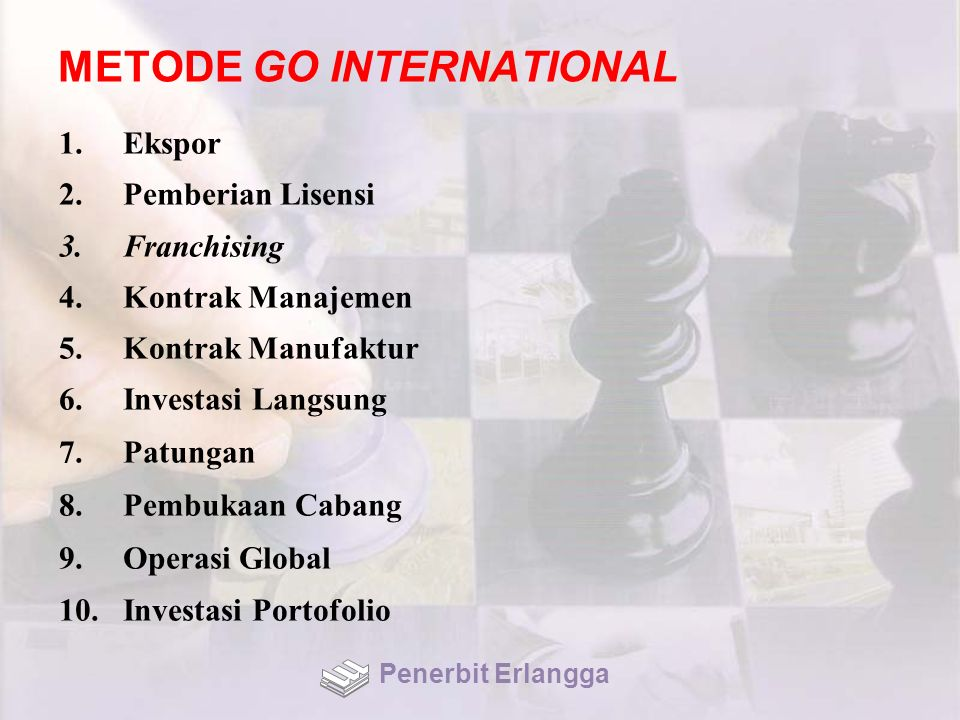 METODE GO INTERNATIONAL