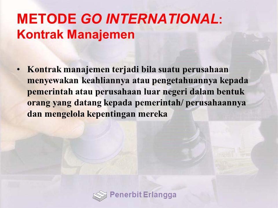 METODE GO INTERNATIONAL: Kontrak Manajemen