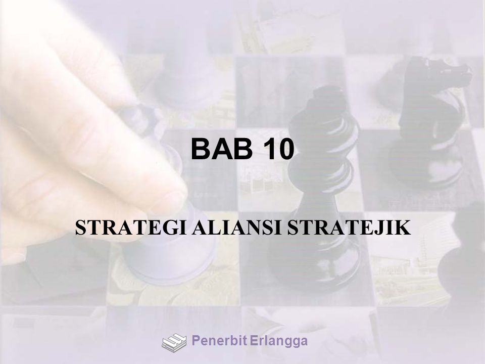 STRATEGI ALIANSI STRATEJIK
