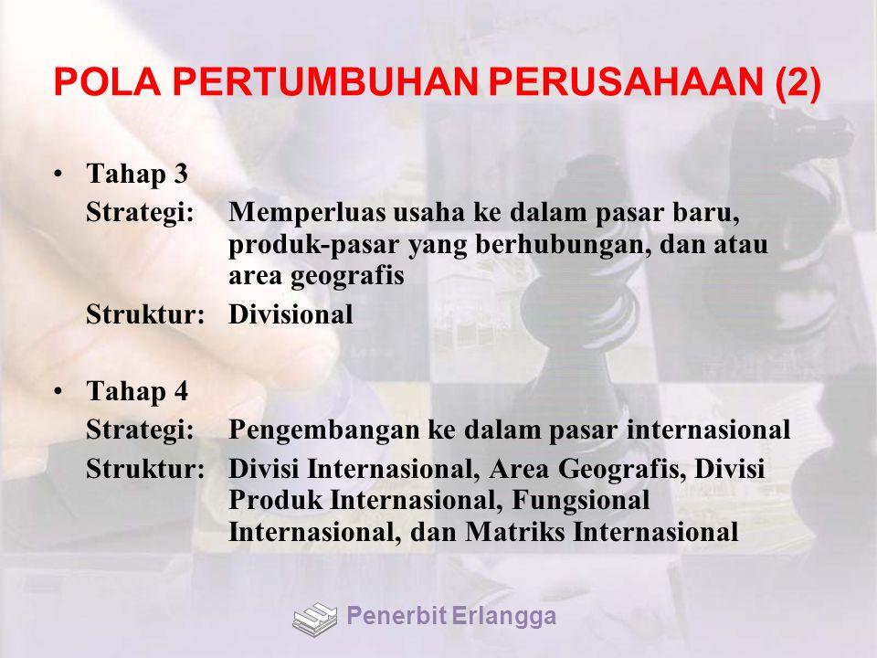 POLA PERTUMBUHAN PERUSAHAAN (2)
