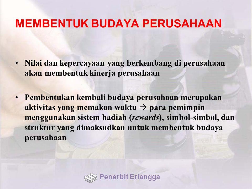 MEMBENTUK BUDAYA PERUSAHAAN