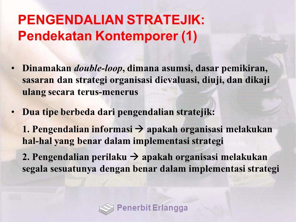 PENGENDALIAN STRATEJIK: Pendekatan Kontemporer (1)