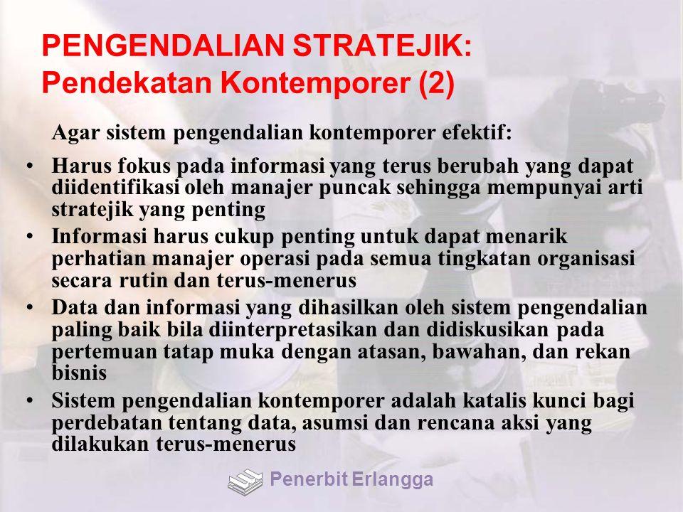 PENGENDALIAN STRATEJIK: Pendekatan Kontemporer (2)