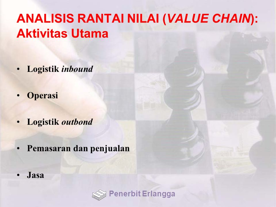 ANALISIS RANTAI NILAI (VALUE CHAIN): Aktivitas Utama