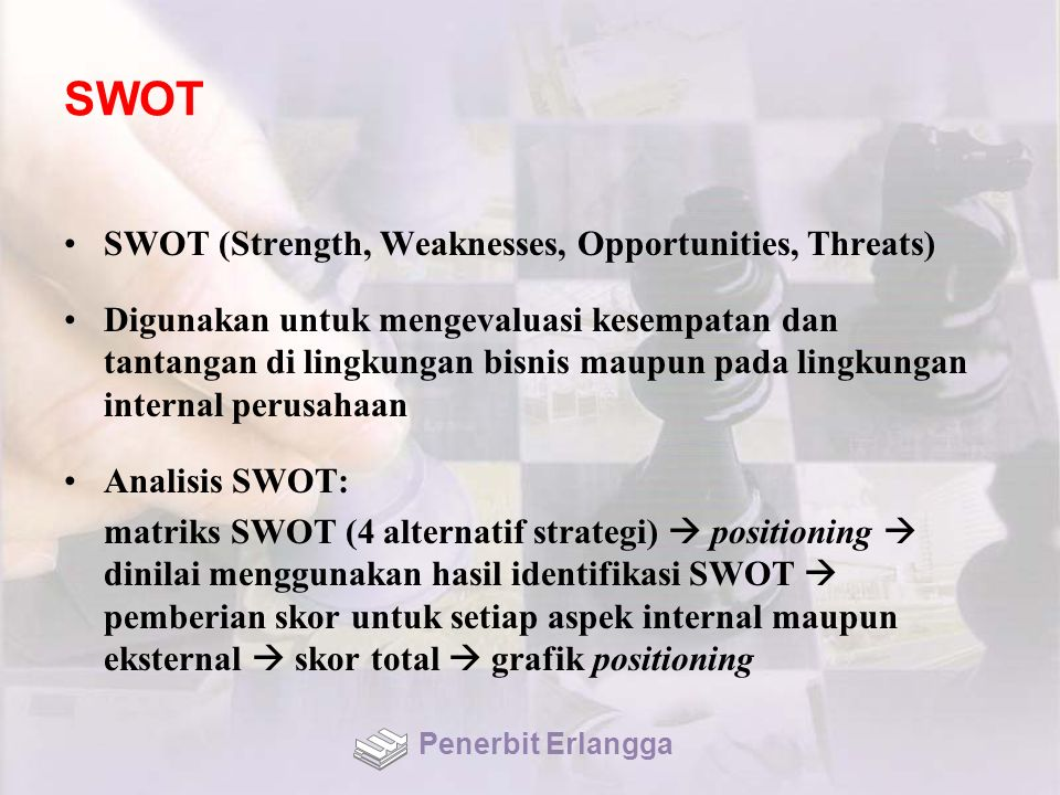 SWOT SWOT (Strength, Weaknesses, Opportunities, Threats)