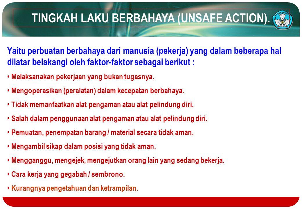 TINGKAH LAKU BERBAHAYA (UNSAFE ACTION).