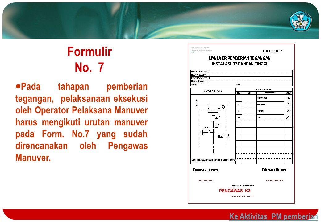 Formulir No. 7