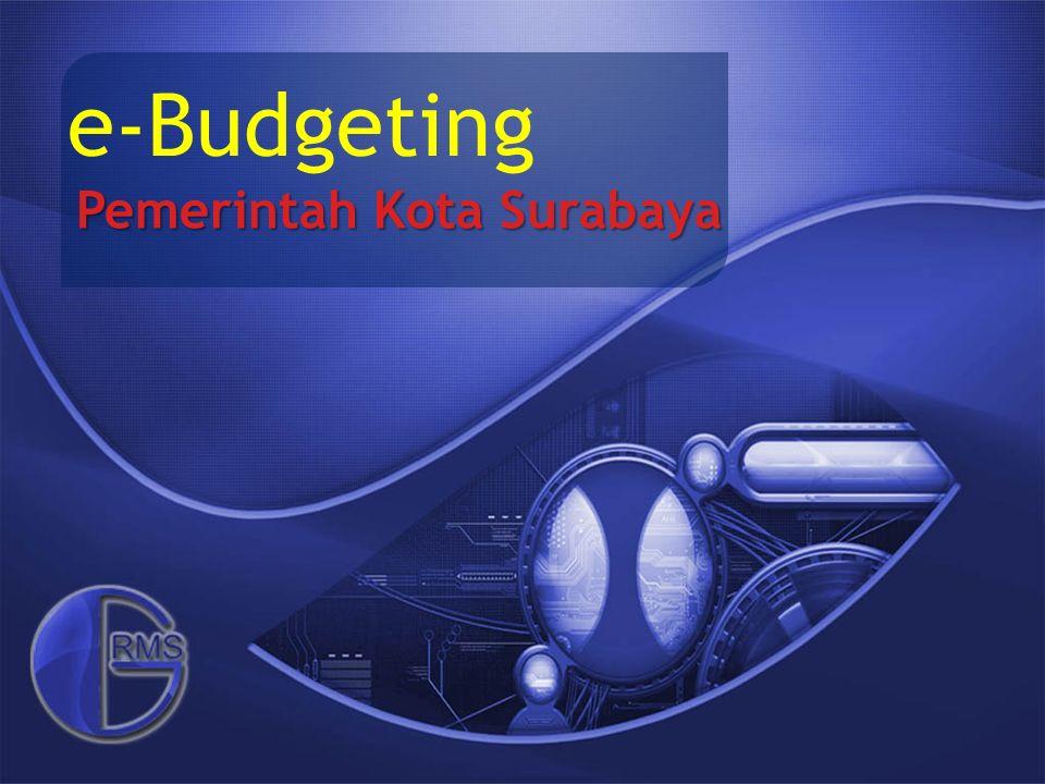 e-Budgeting Pemerintah Kota Surabaya
