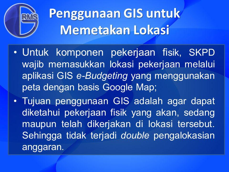 Penggunaan GIS untuk Memetakan Lokasi