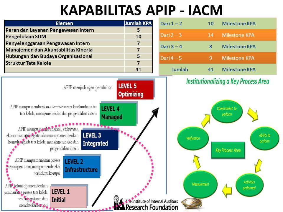 KAPABILITAS APIP - IACM