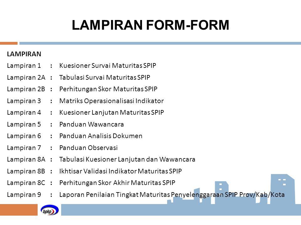LAMPIRAN FORM-FORM LAMPIRAN Lampiran 1 :