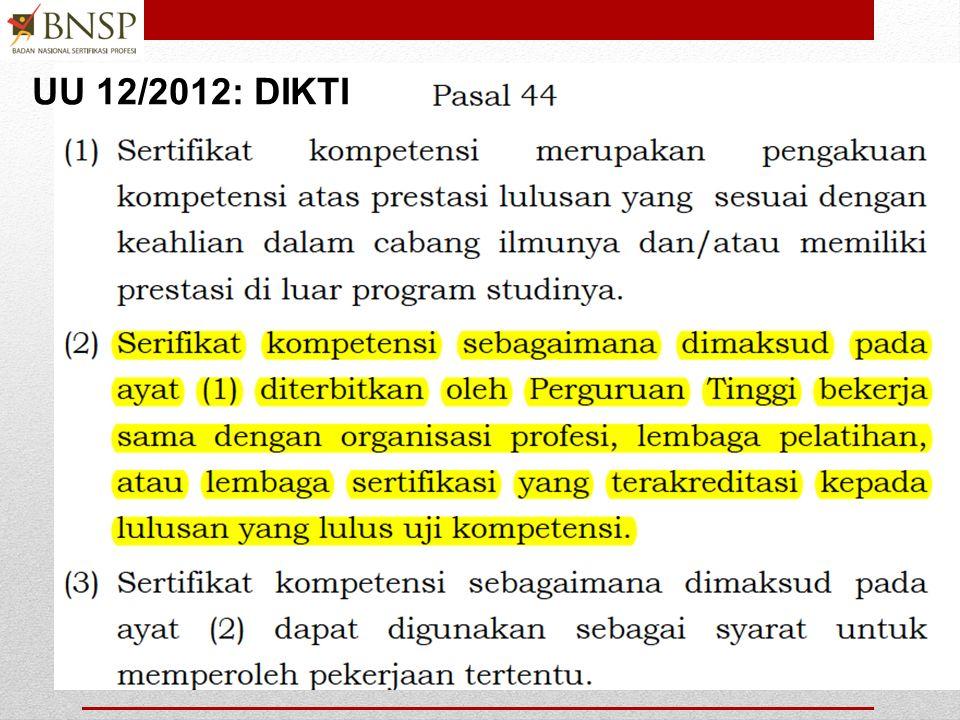 UU 12/2012: DIKTI