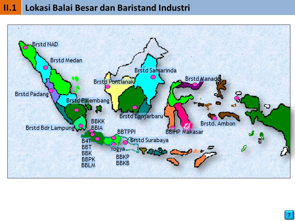 Lokasi Balai Besar dan Baristand Industri