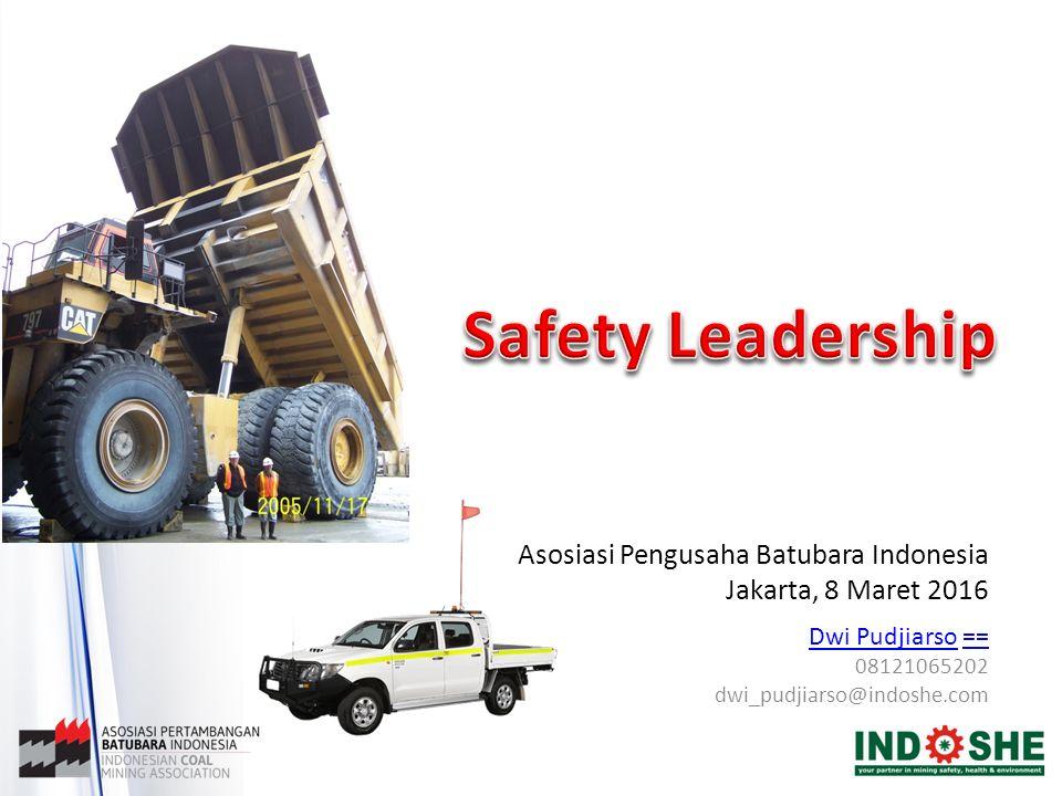 Safety Leadership Asosiasi Pengusaha Batubara Indonesia