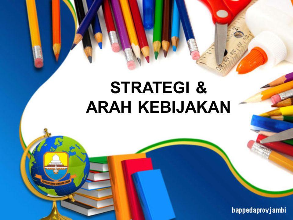 STRATEGI & ARAH KEBIJAKAN