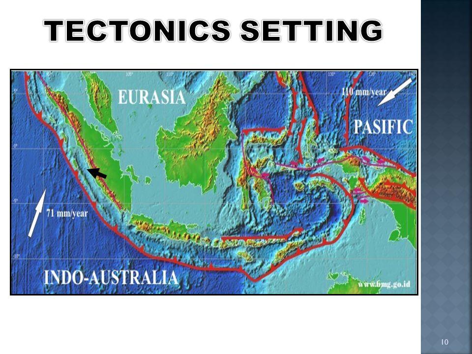 TECTONICS SETTING 10 10