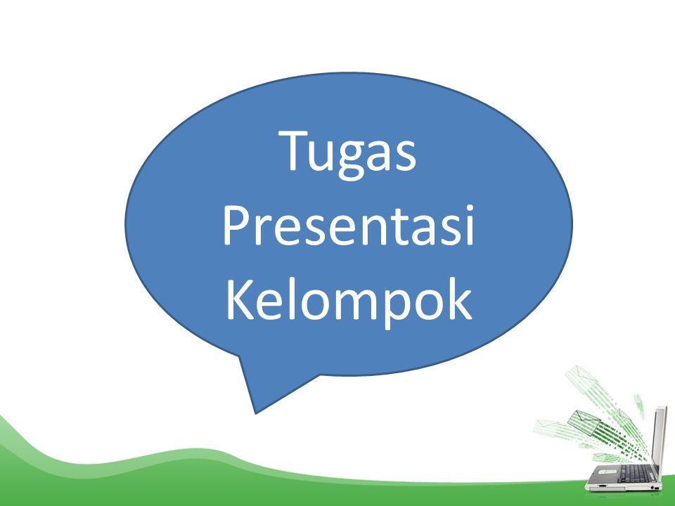 Tugas Presentasi Kelompok