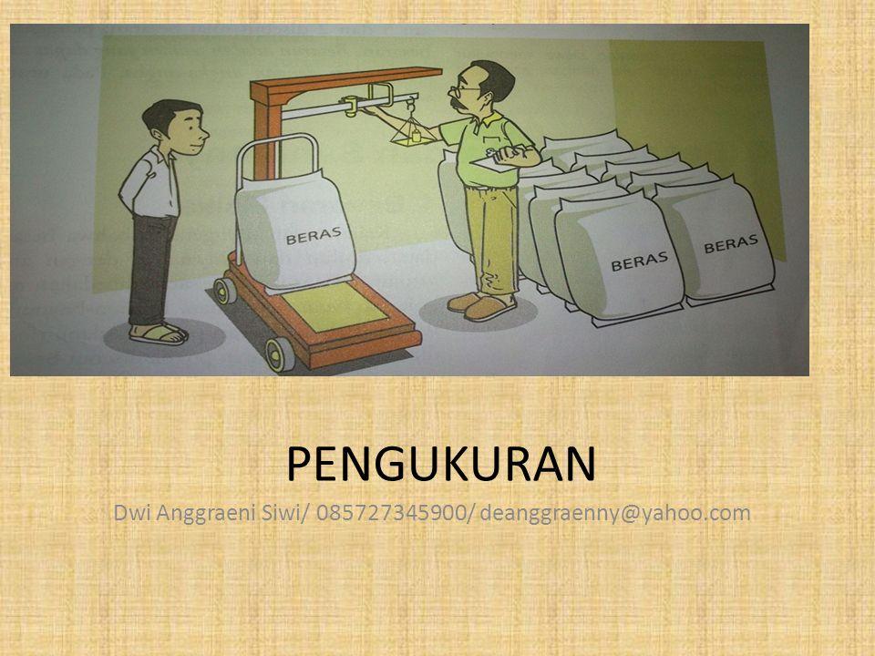 Dwi Anggraeni Siwi/ 085727345900/ deanggraenny@yahoo.com