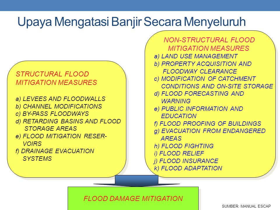FLOOD DAMAGE MITIGATION