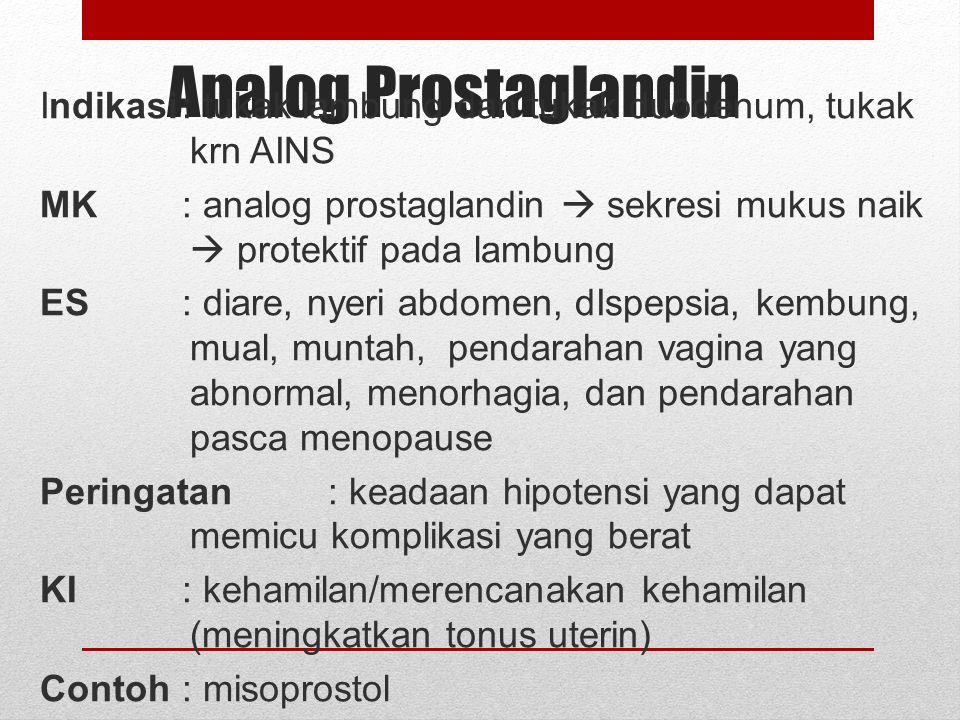 Analog Prostaglandin