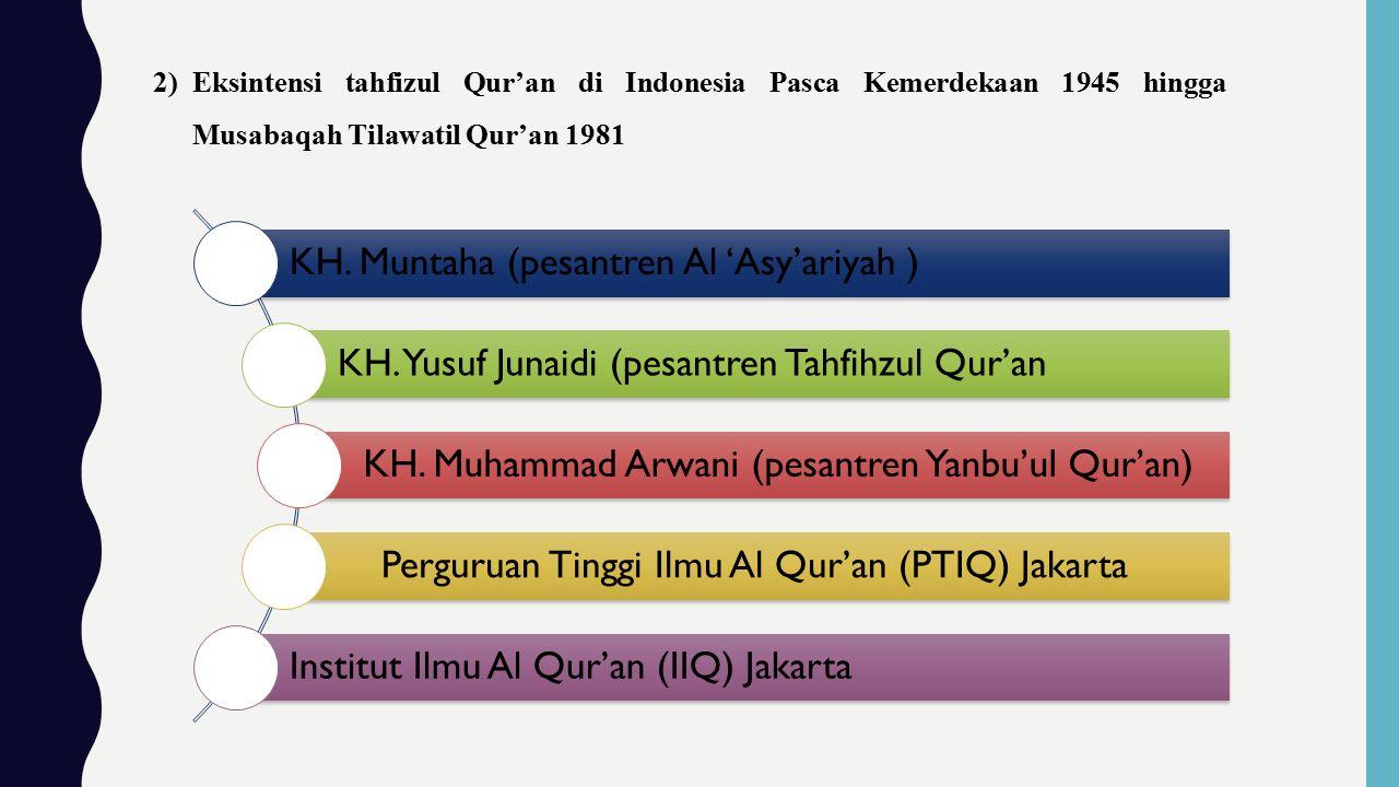 KH. Muntaha (pesantren Al 'Asy'ariyah )
