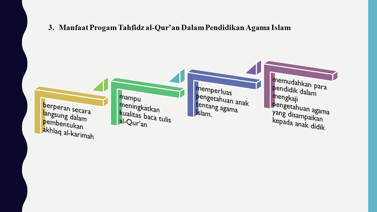 berperan secara langsung dalam pembentukan akhlaq al-karimah
