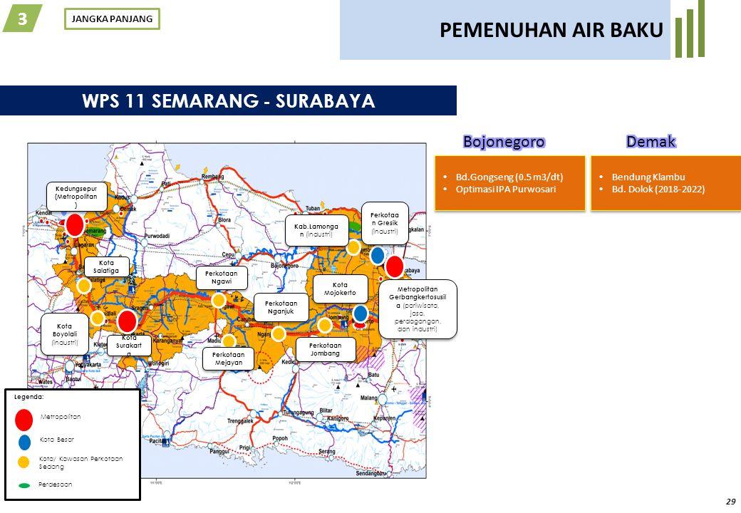 PEMENUHAN AIR BAKU 3 Kota Metropolitan Sarbagita - Tabanan Negara