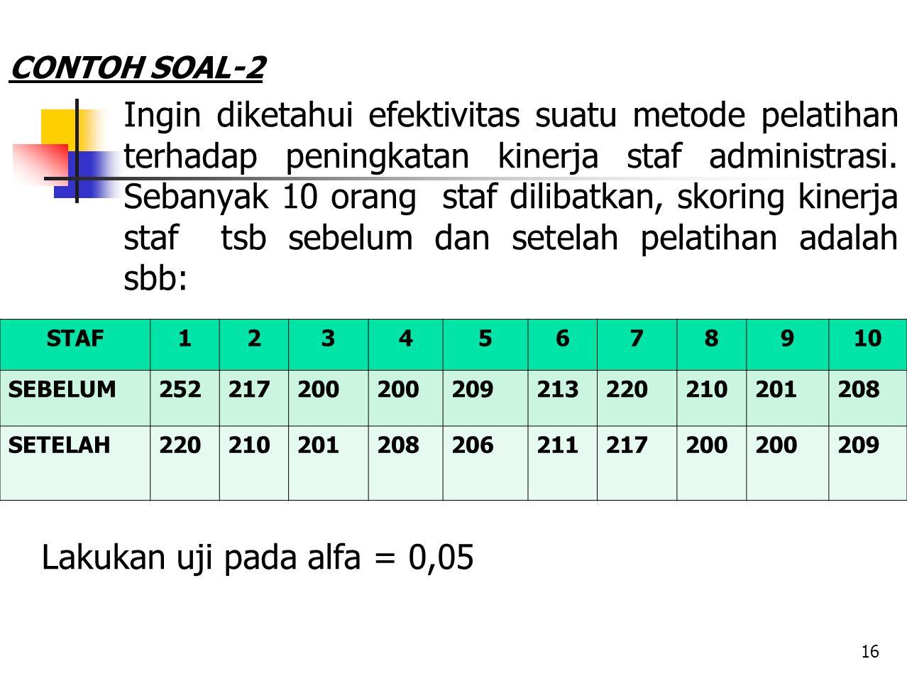 CONTOH SOAL-2