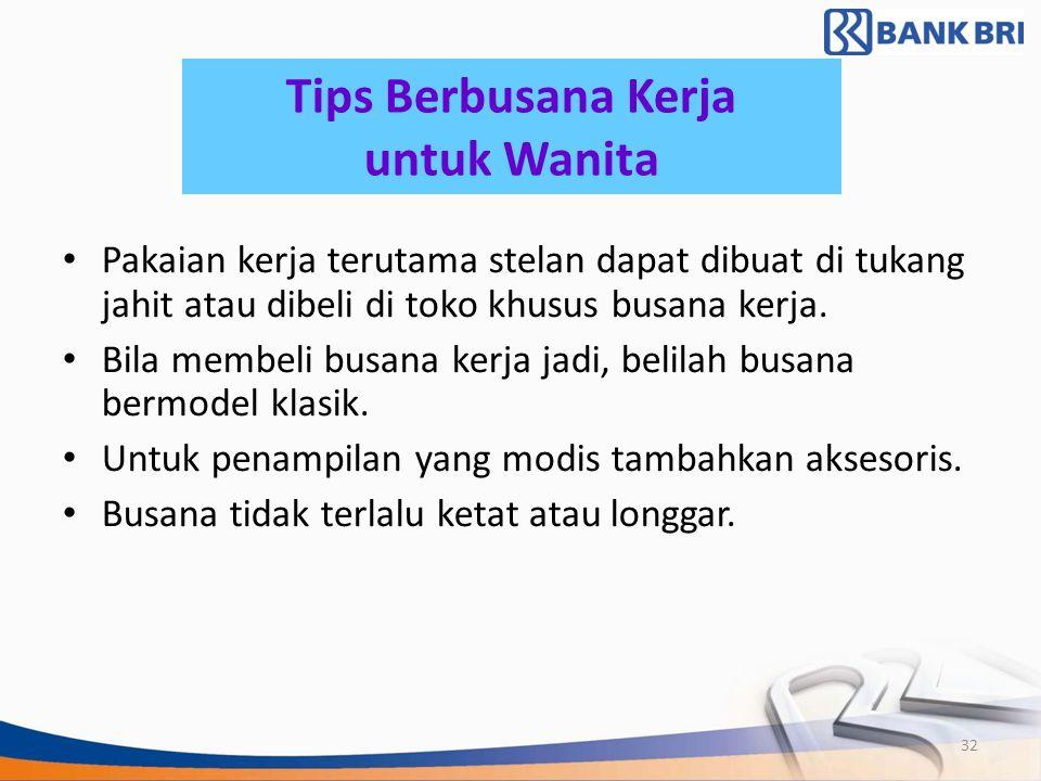 Tips Berbusana Kerja untuk Wanita