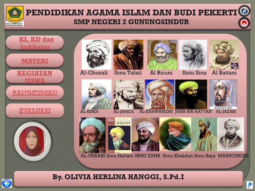 Al Biruni Ibnu Sina Al Battani
