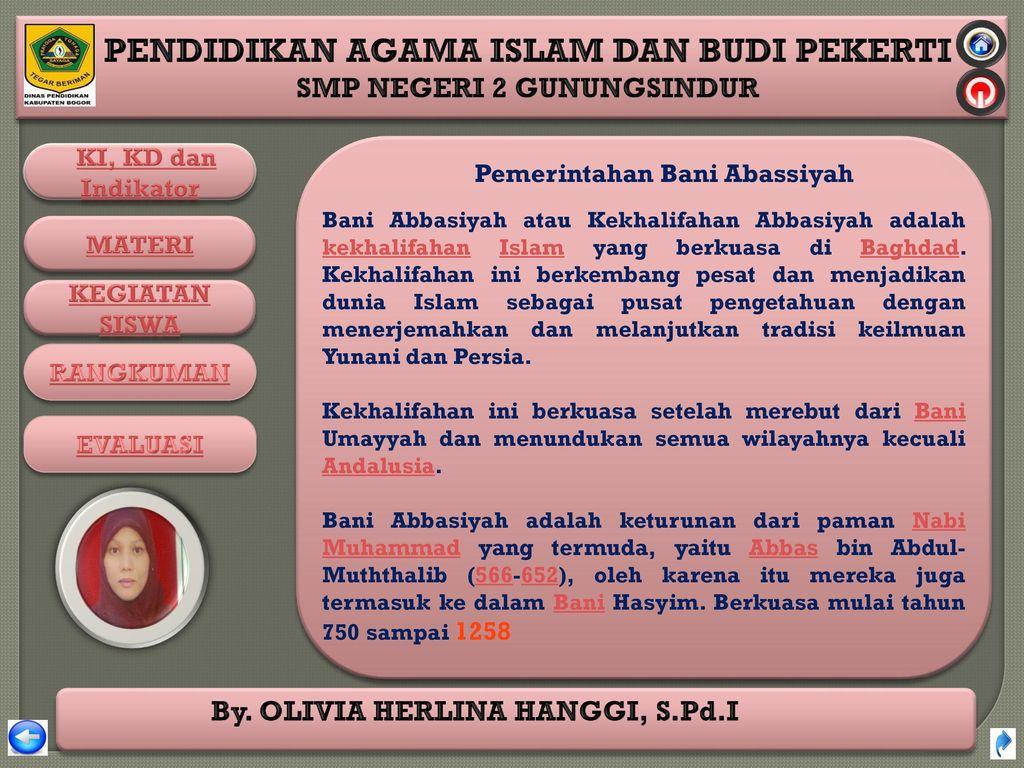 Pemerintahan Bani Abassiyah