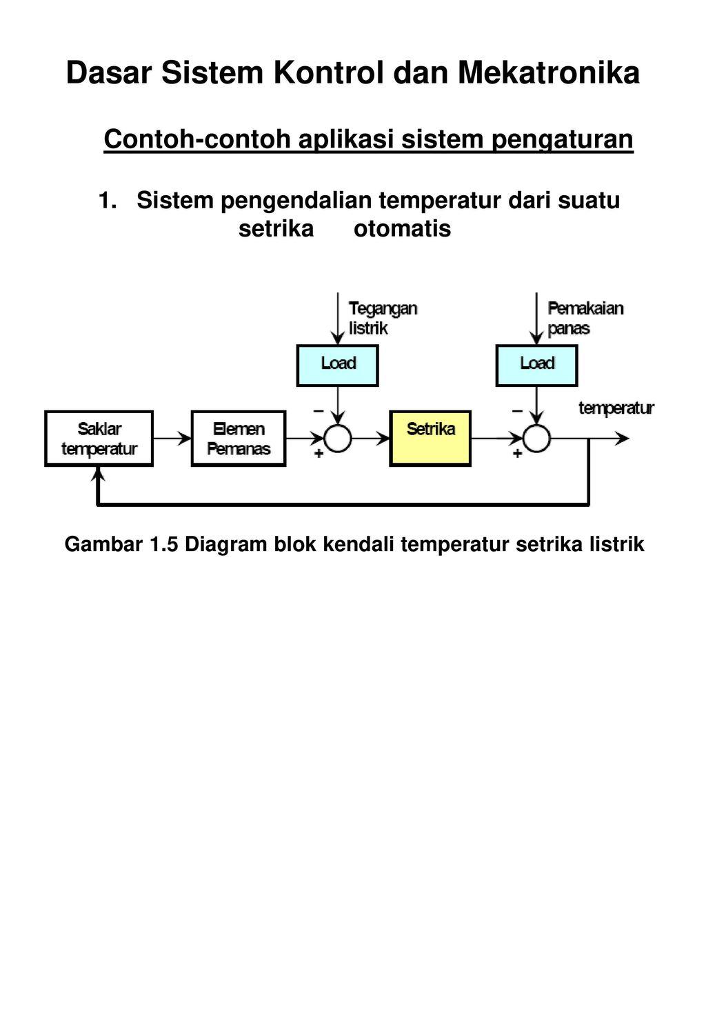 Diktat instrumentasi sistem kendali ppt download dasar sistem kontrol dan mekatronika ccuart Gallery