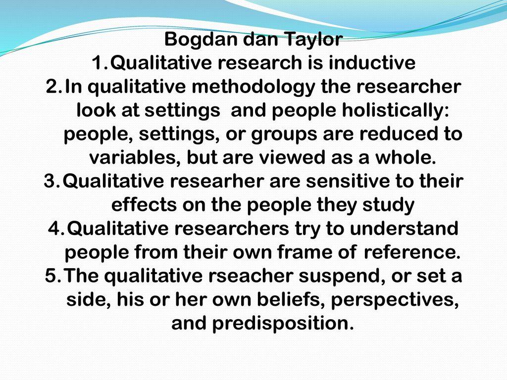 inductive qualitative research
