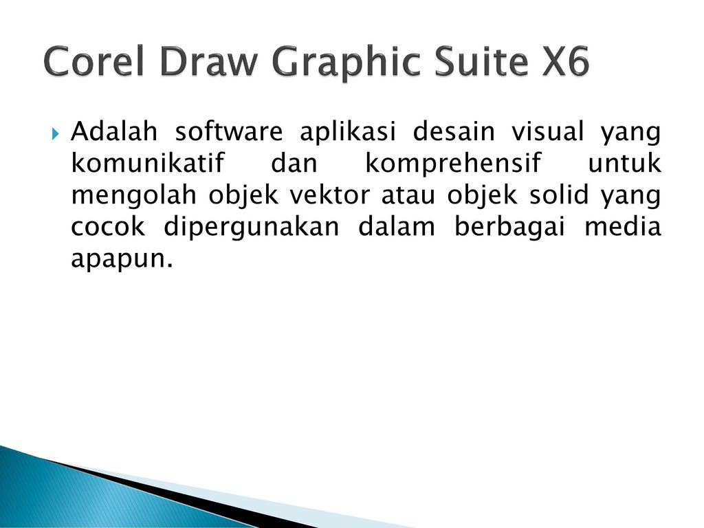 Corel Draw Graphic Suite X6