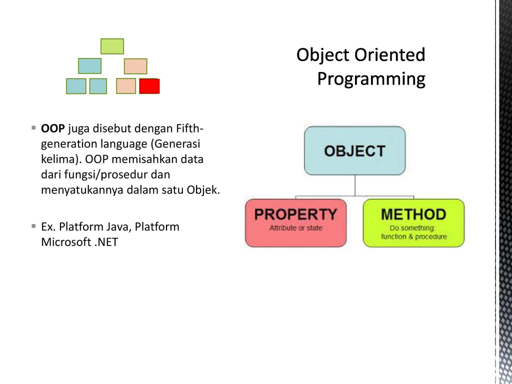 a comparison of the two object oriented programming languages java and c
