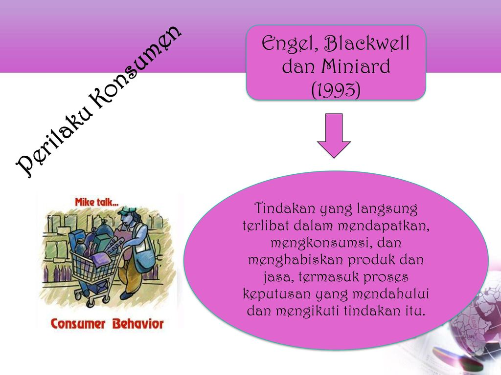 Engel, Blackwell dan Miniard (1993)