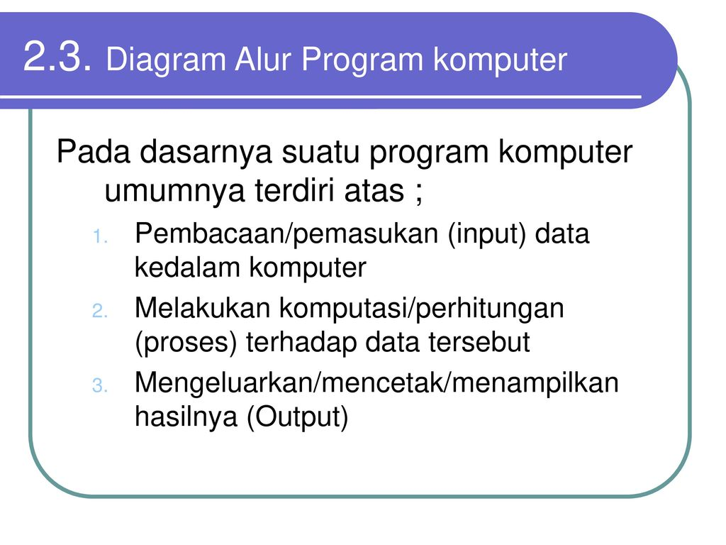 Bab ii diagram alur atau flowchart ppt download diagram alur program komputer ccuart Images