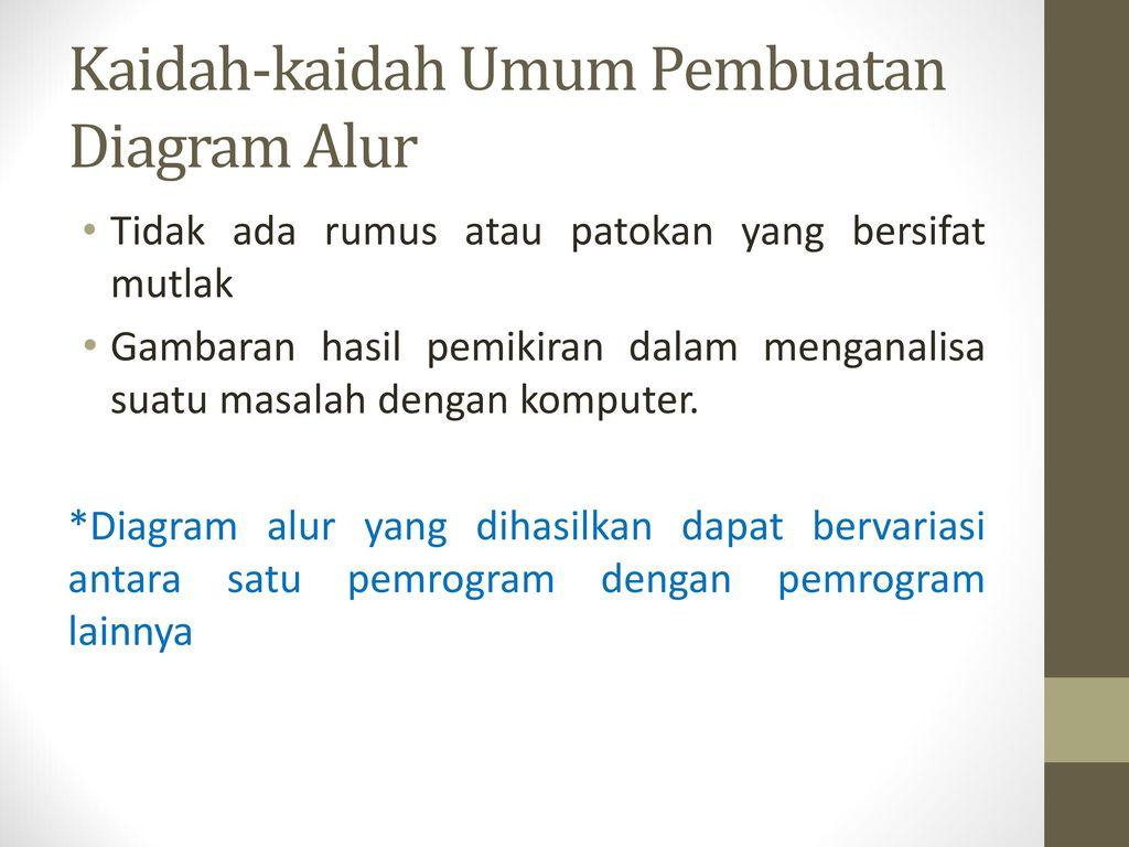 Diagram alur flowhart ppt download kaidah kaidah umum pembuatan diagram alur ccuart Image collections