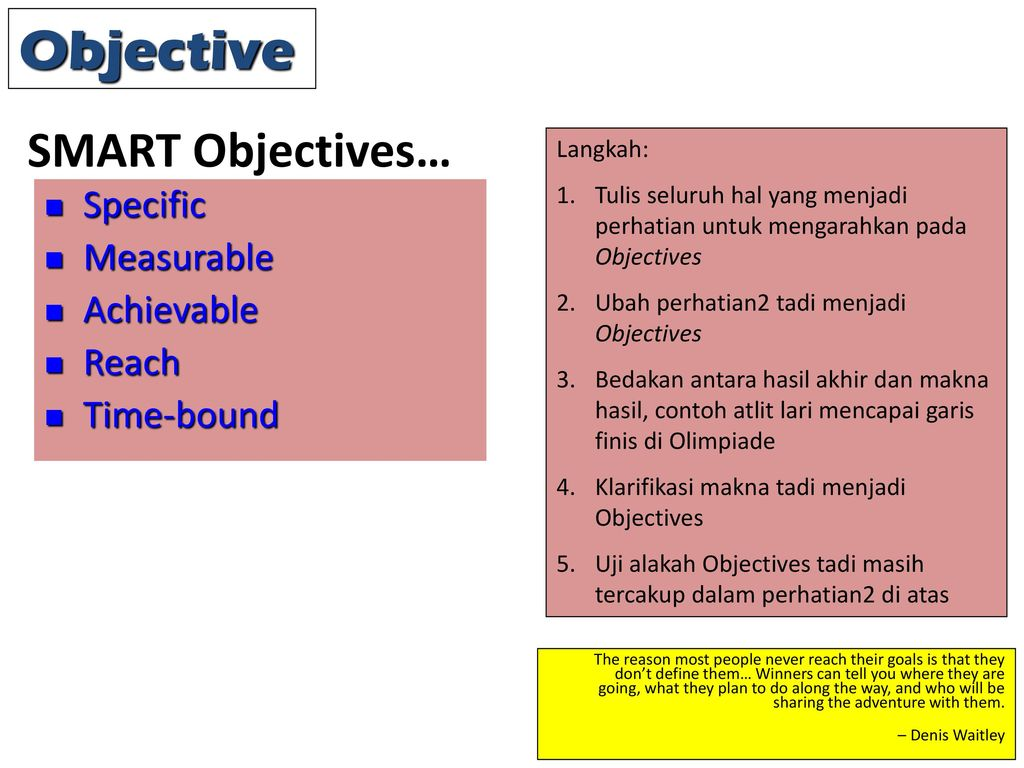 boots smart objectives Smart objectives focus on what it will look like when the objective is achieved sometimes the objective has to be achieved in a particular way and therefore should.