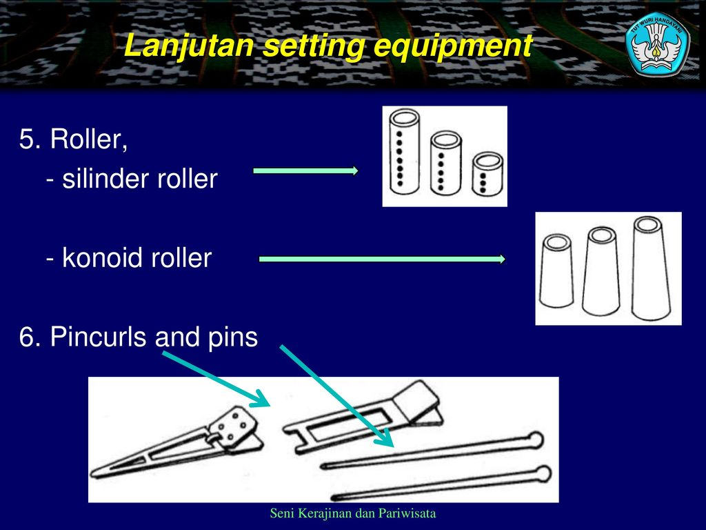 Lanjutan setting equipment