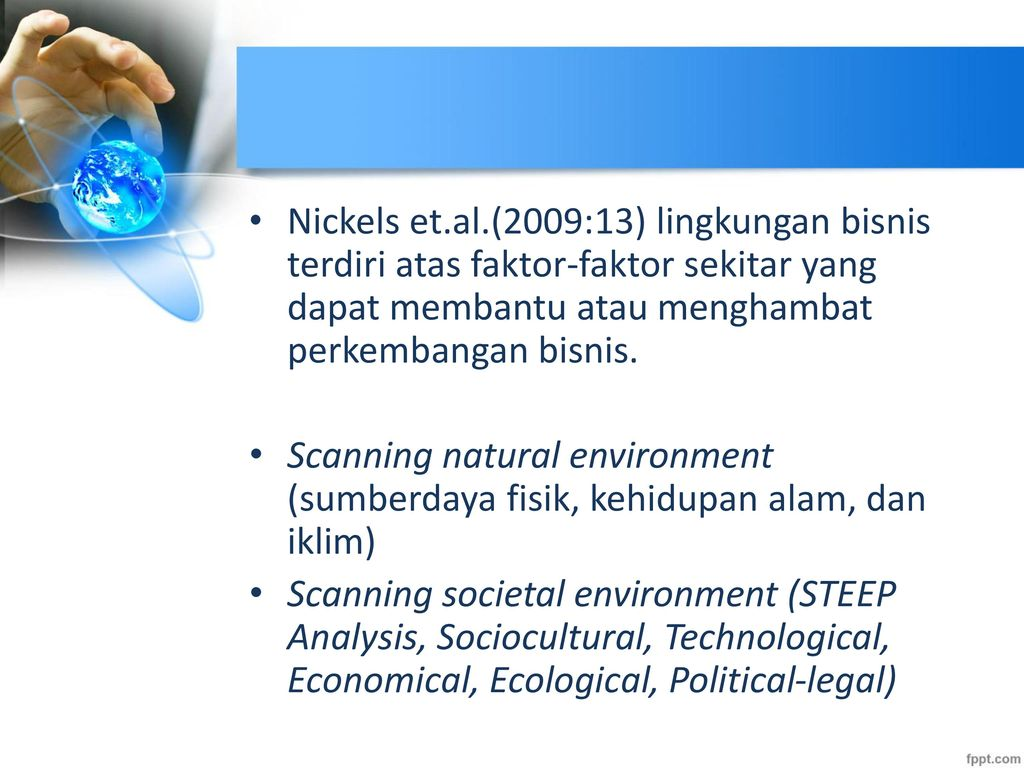 ecology and steep analysis