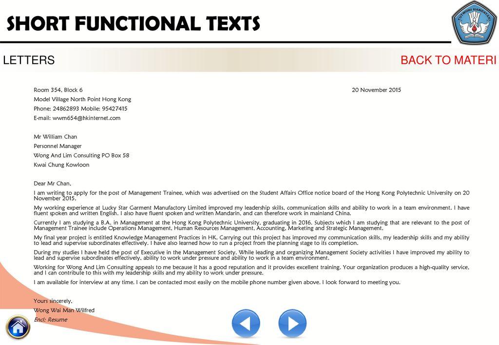 Kelompok kompetensi d profesional short functional text 2 ppt 37 letters stopboris Images
