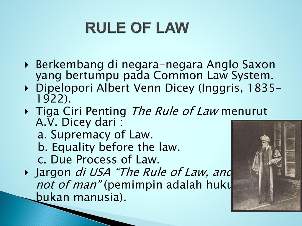 roles of law