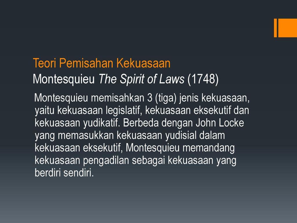 an analysis of montesquieus the spirit of laws Baron de montesquieu: ideas, accomplishments & facts the spirit of the laws baron de montesquieu: ideas, accomplishments & facts related study materials.